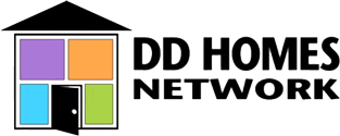 DD Homes Network – Some just call us home Logo